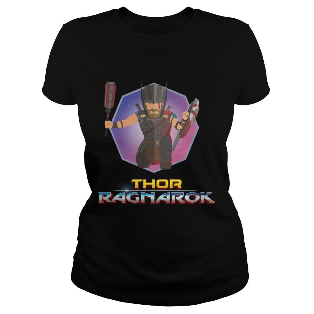 Thor ragnarok Ladies tee