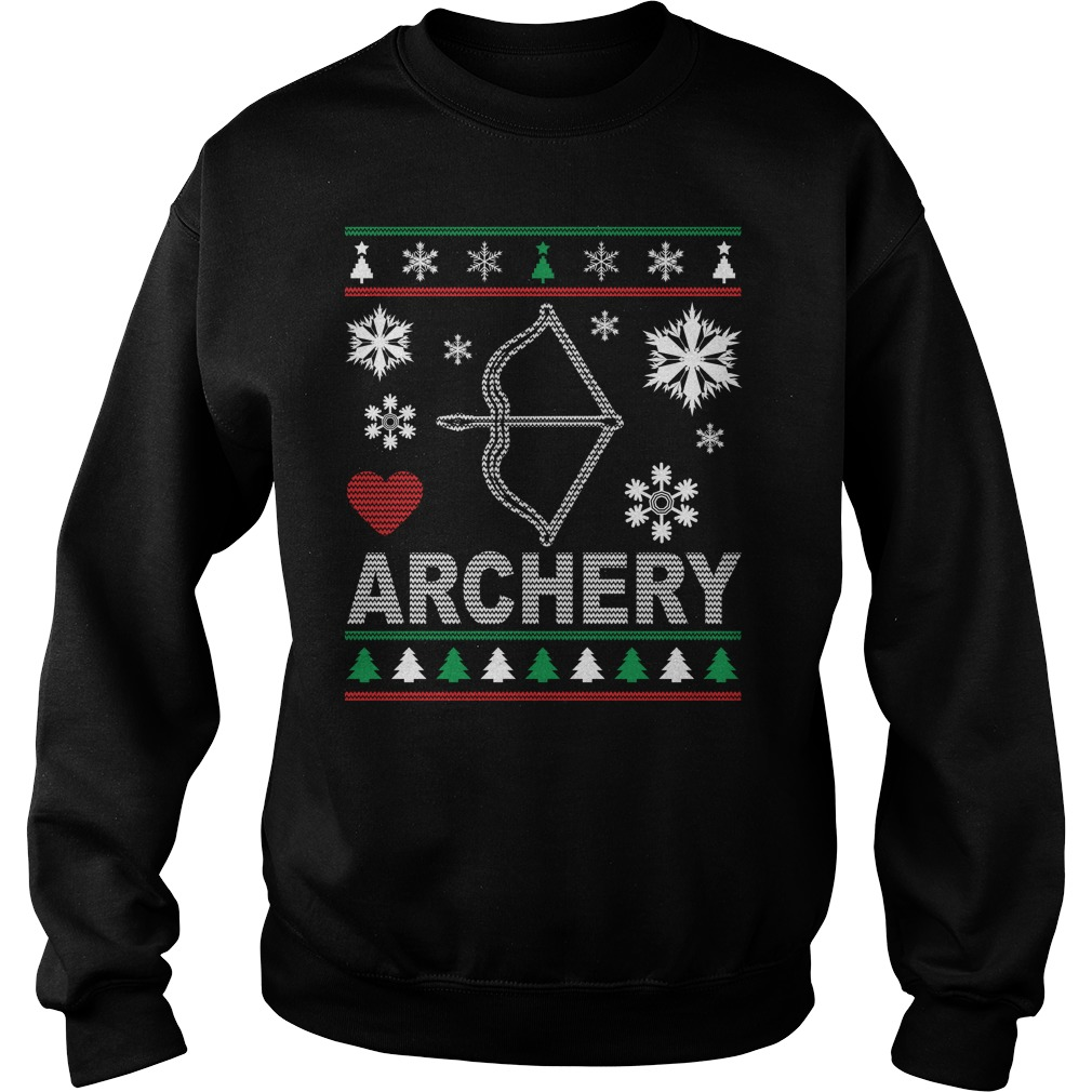 Ugly Archery Christmas Design sweater