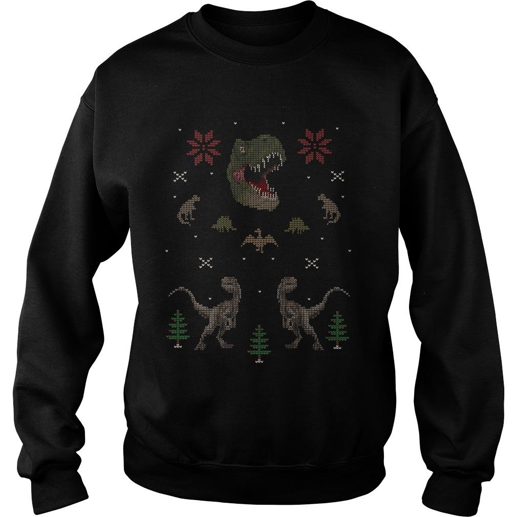 Ugly Dino Christmas sweater