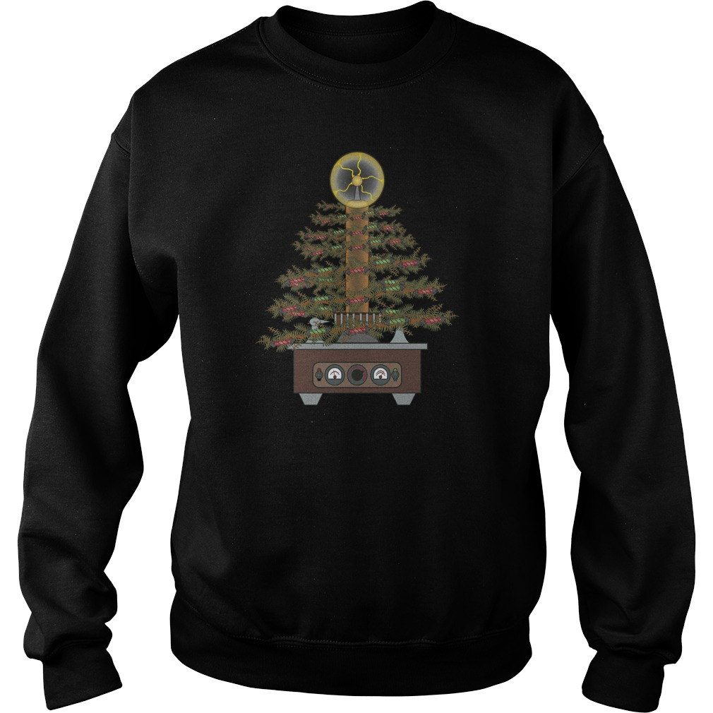Ugly Geek Style Christmas Tree sweater
