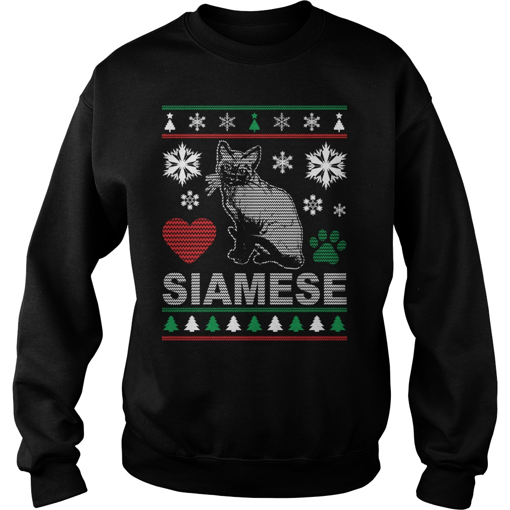 Ugly Siamese Christmas Design sweater