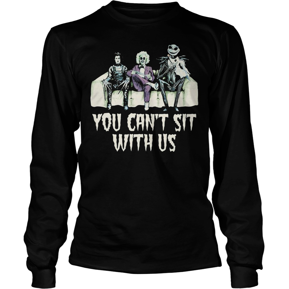 You can't sit with us Longsleeve