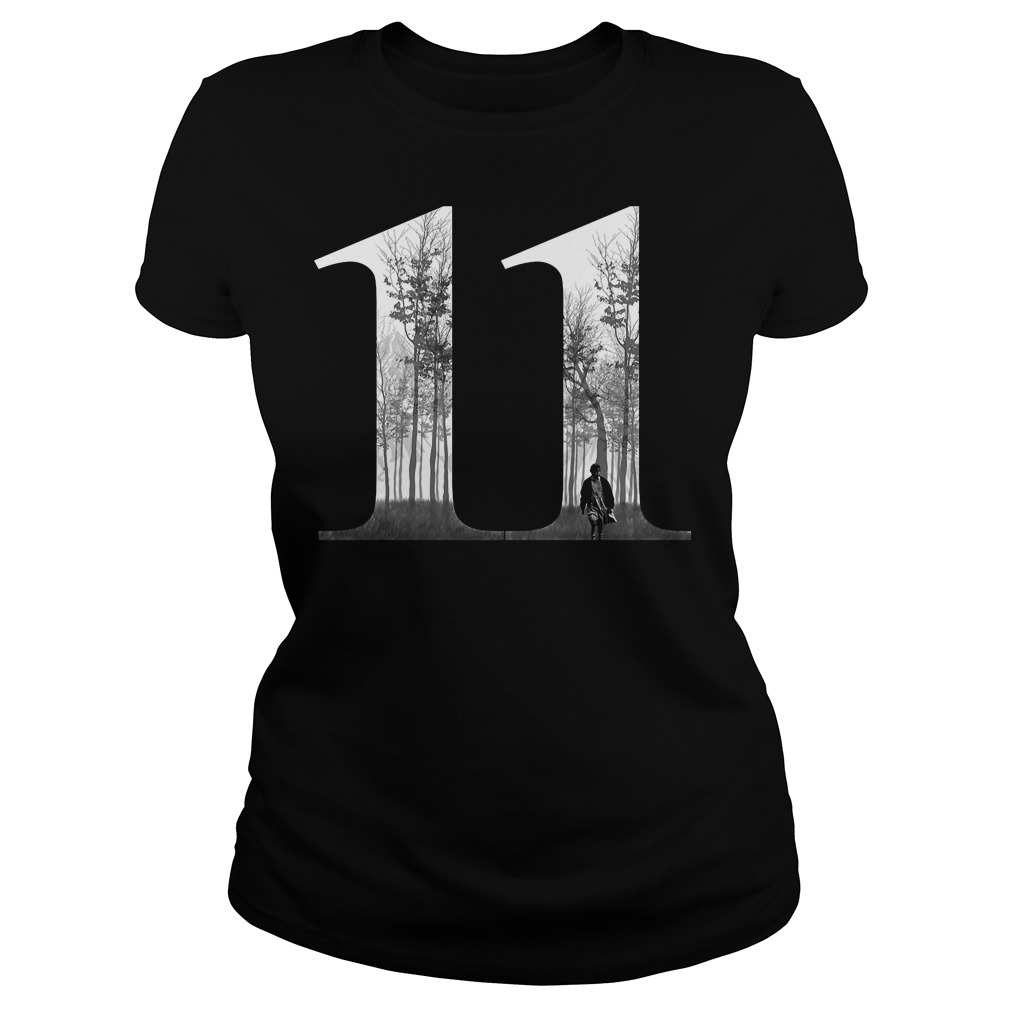 11 Eleven Stranger Things Ladies tee