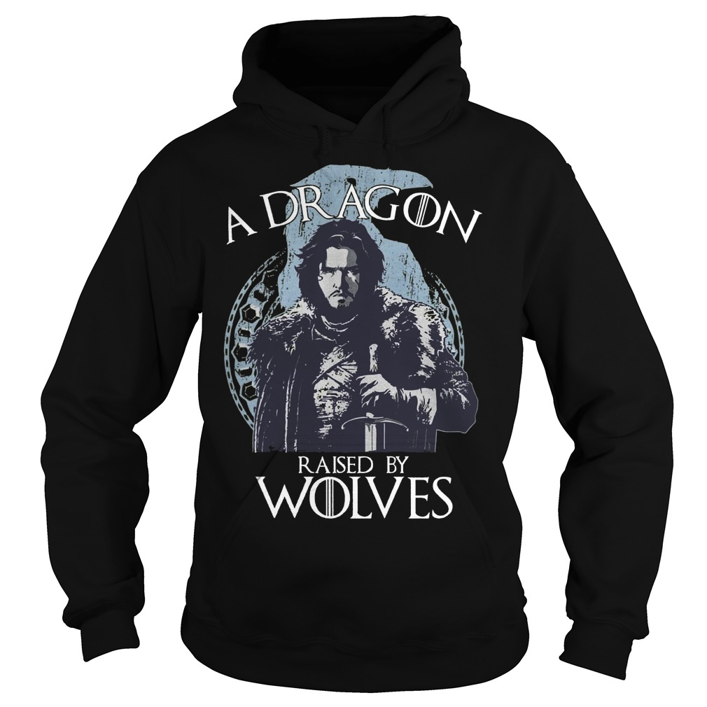 A Dragon raised by wolves Hoodie