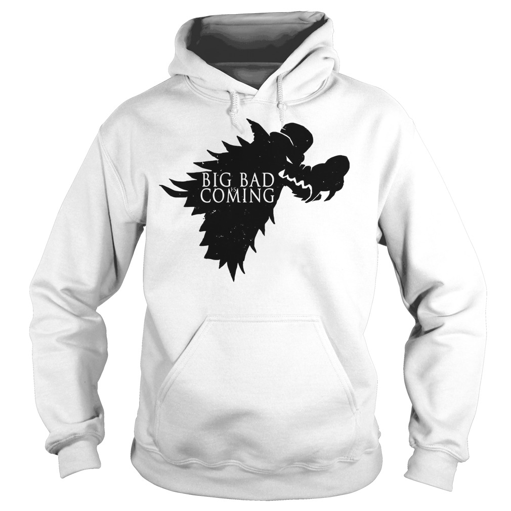 The big bad Wolf is coming Game of Thrones Hoodie