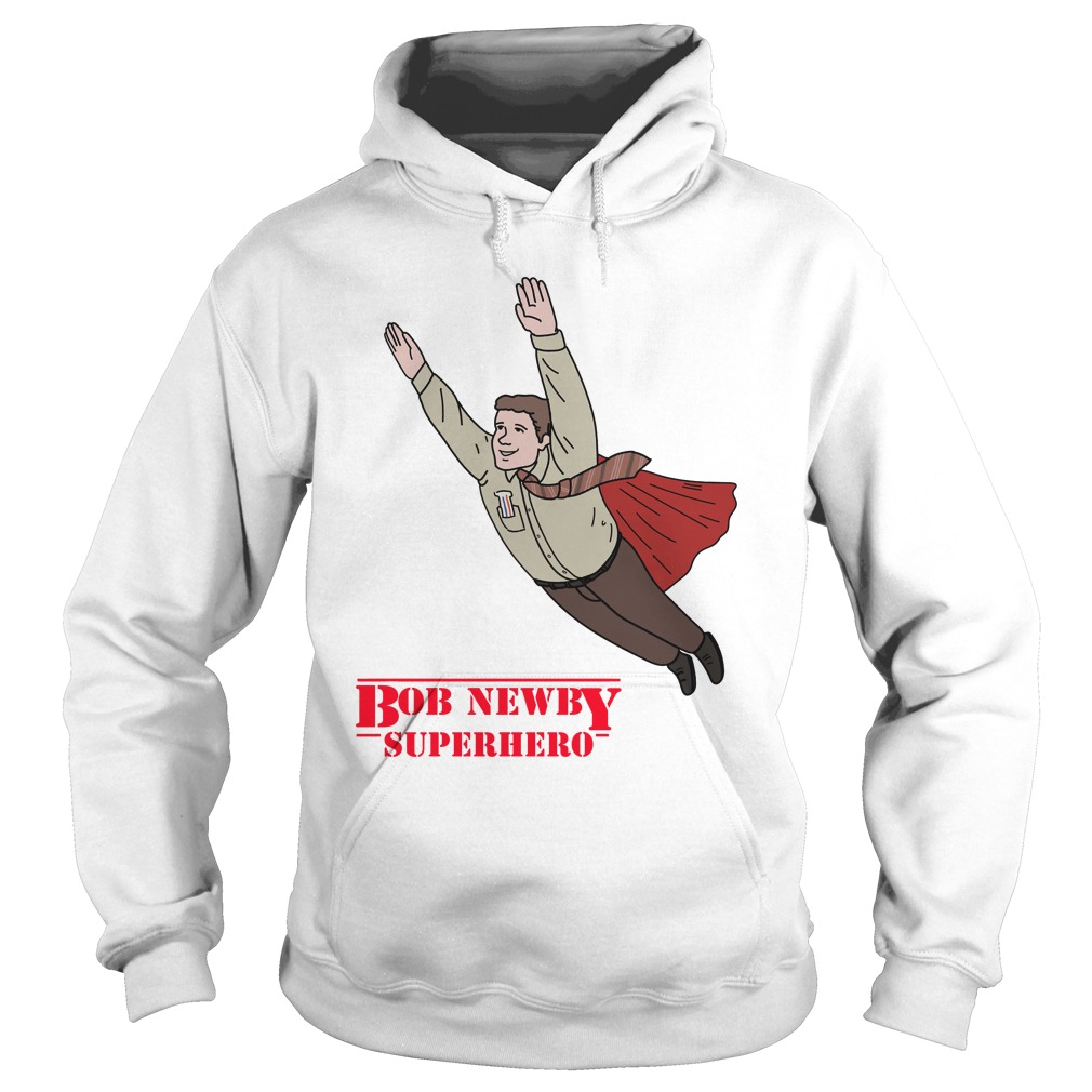 Bob Newby Superhero Stranger things Hoodie