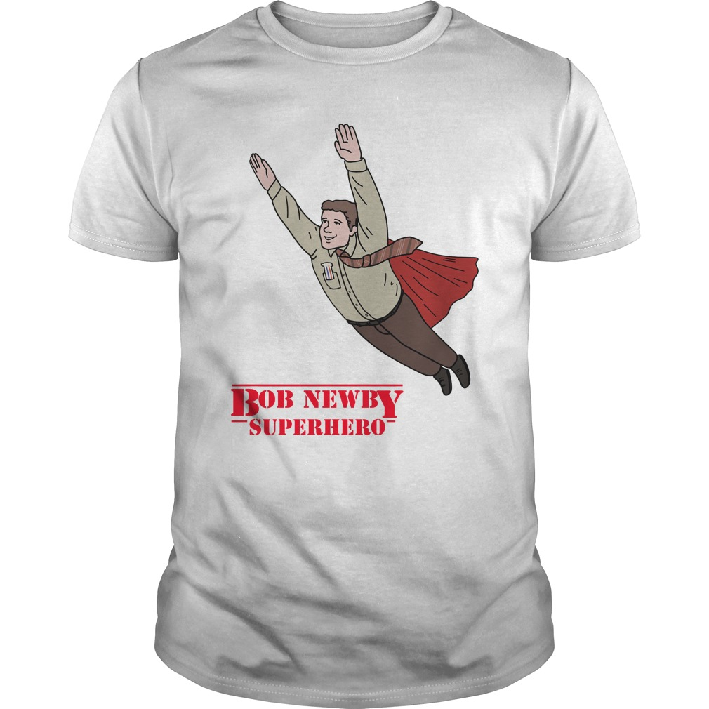 Bob Newby Superhero Stranger things shirt