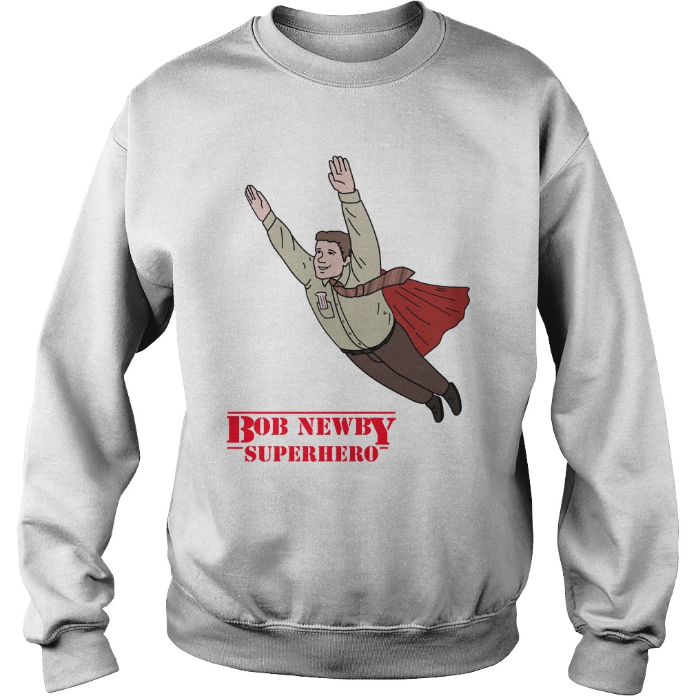 Bob Newby Superhero Stranger things Sweater