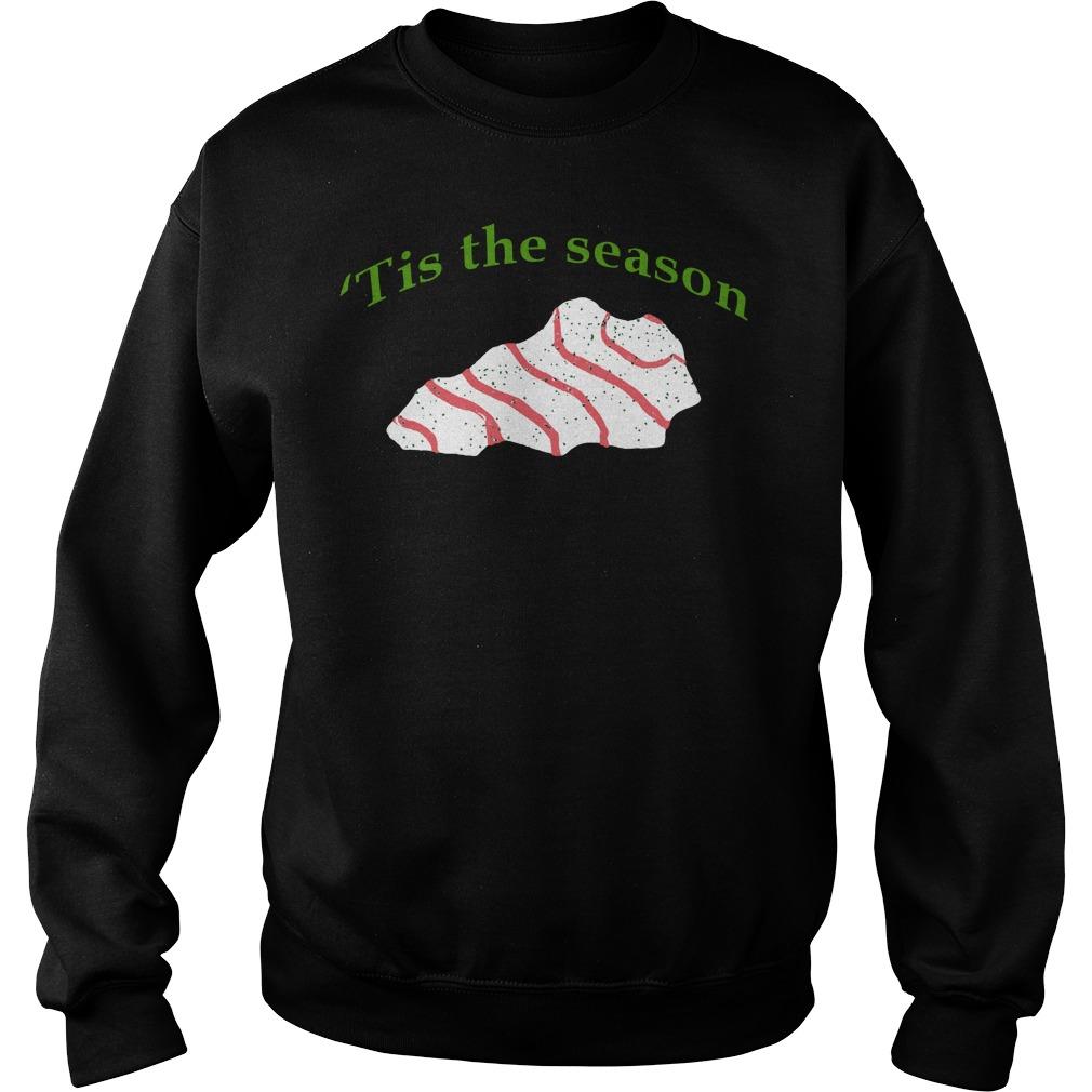 Christmas caketucky tee sweater