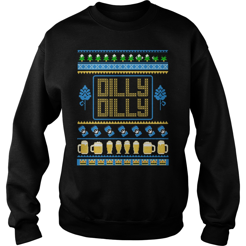 Dilly dilly beer ugly christmas sweater (OLD version)
