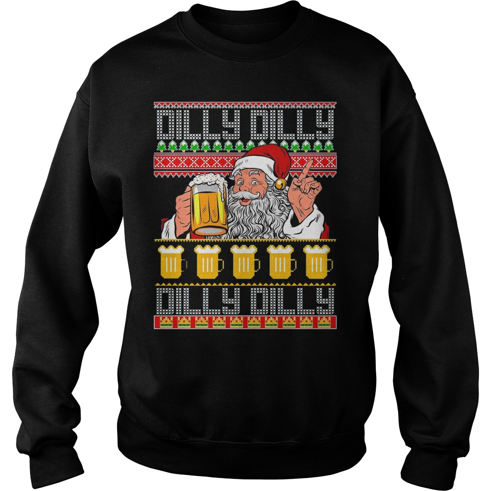 Dilly Dilly Santa Dilly Dilly ugly Christmas sweater