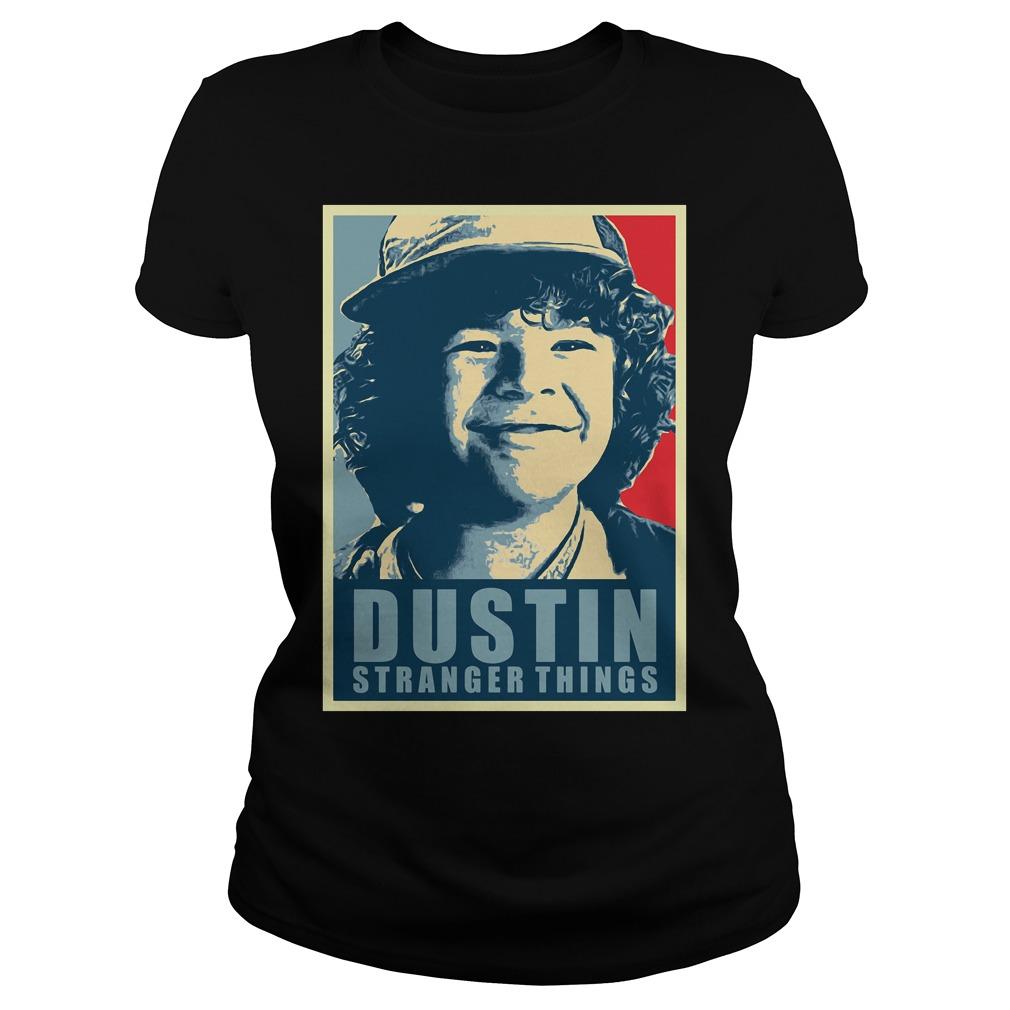 Dustin Stranger Things Ladies tee