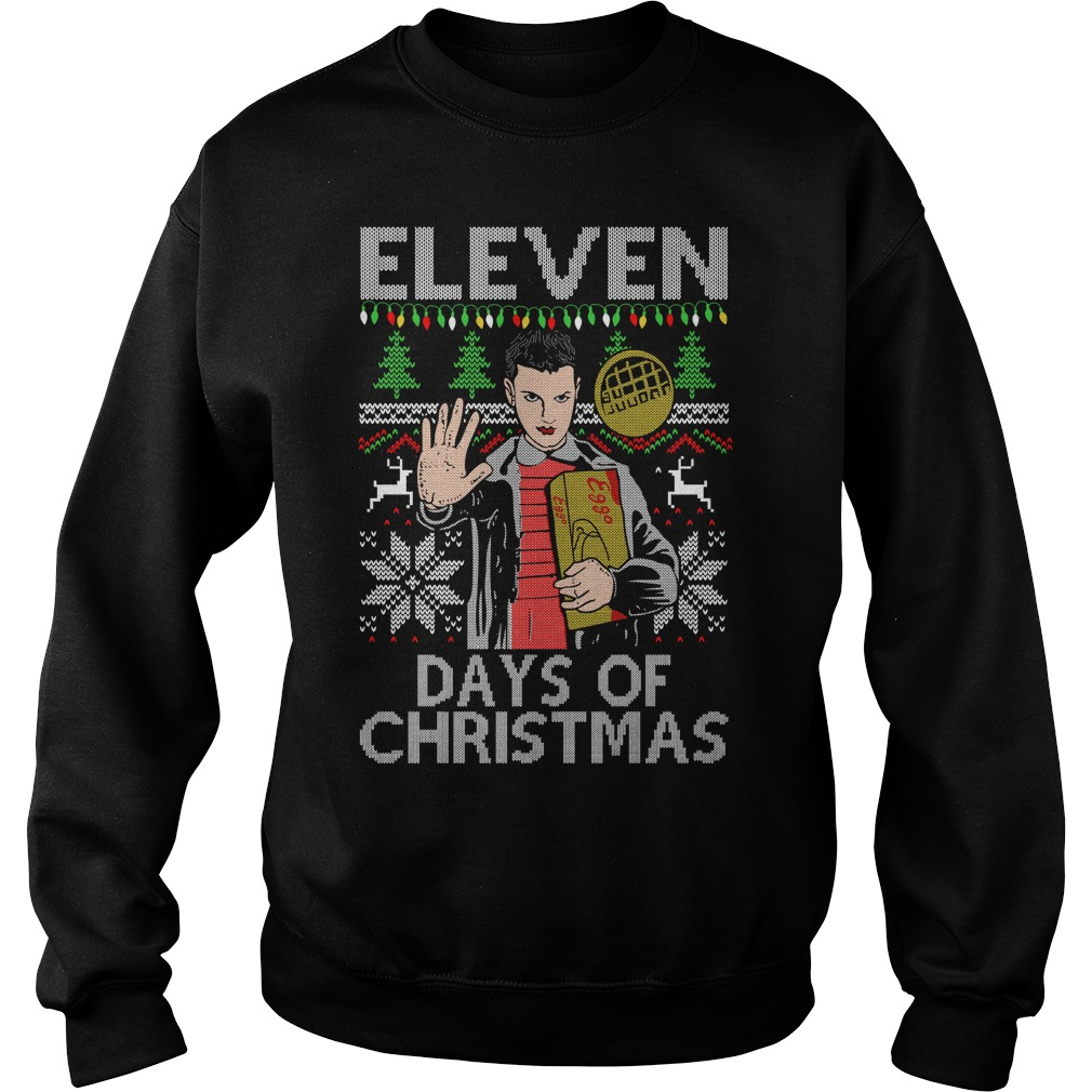 Eleven days of christmas ugly sweater