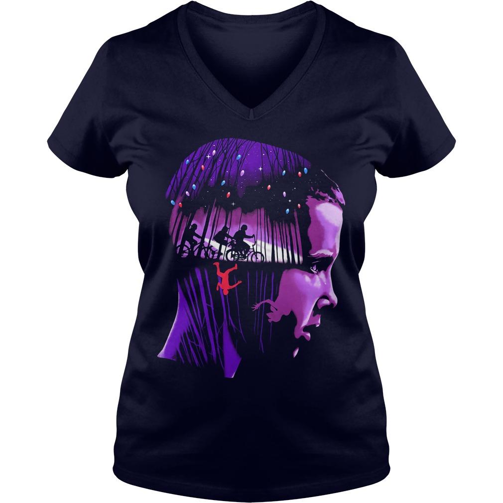 Eleven Stranger Things V-neck t-shirt