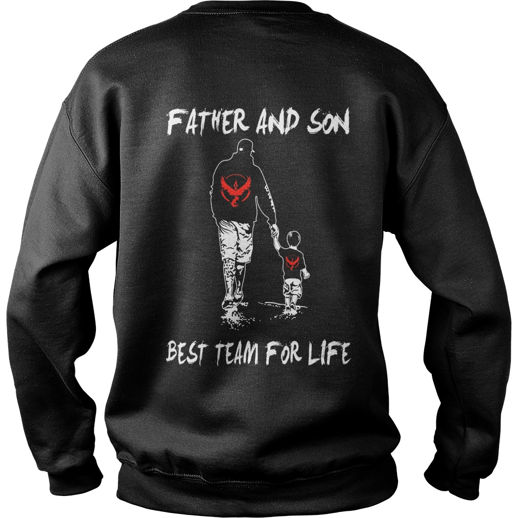 Father and Son best team for life Sweater