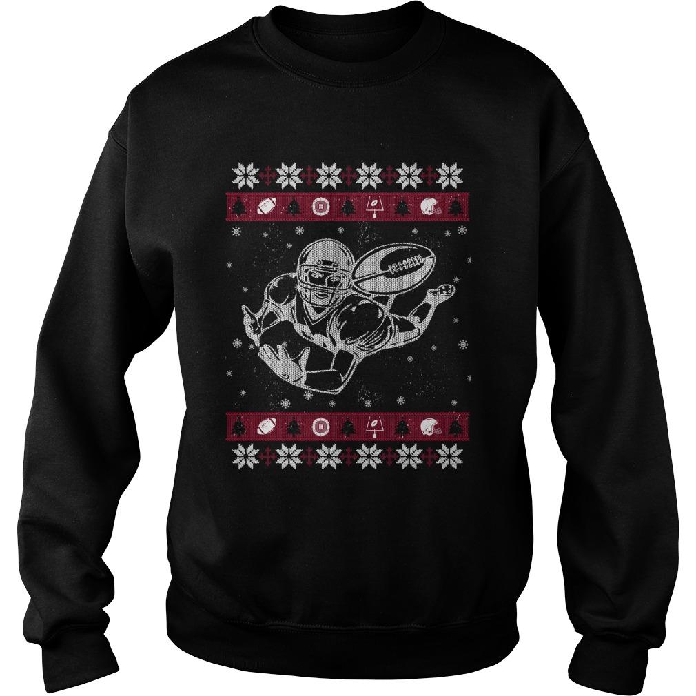 Football ugly Christmas sweater