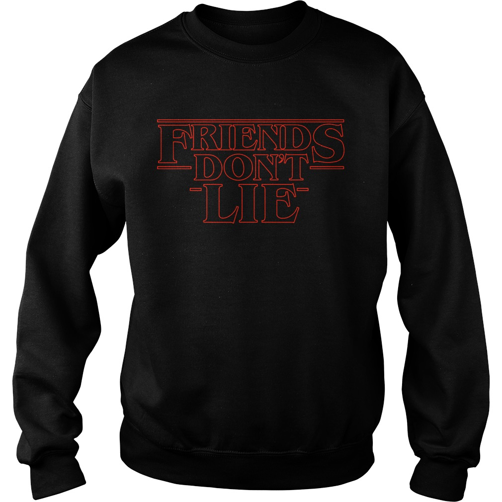 Friends don't lie Stranger Things Sweater