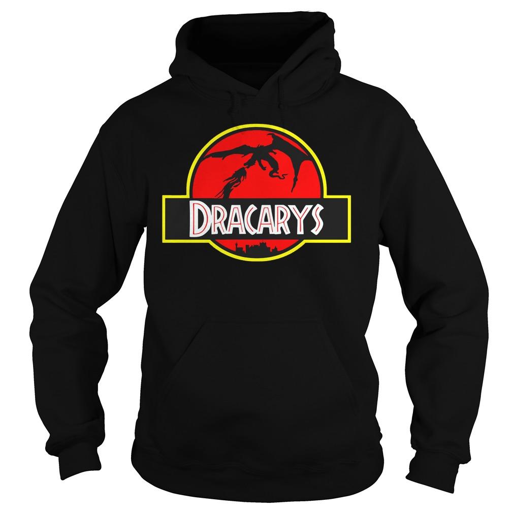 Game of Thrones Dracarys jurassic park mashup Hoodie