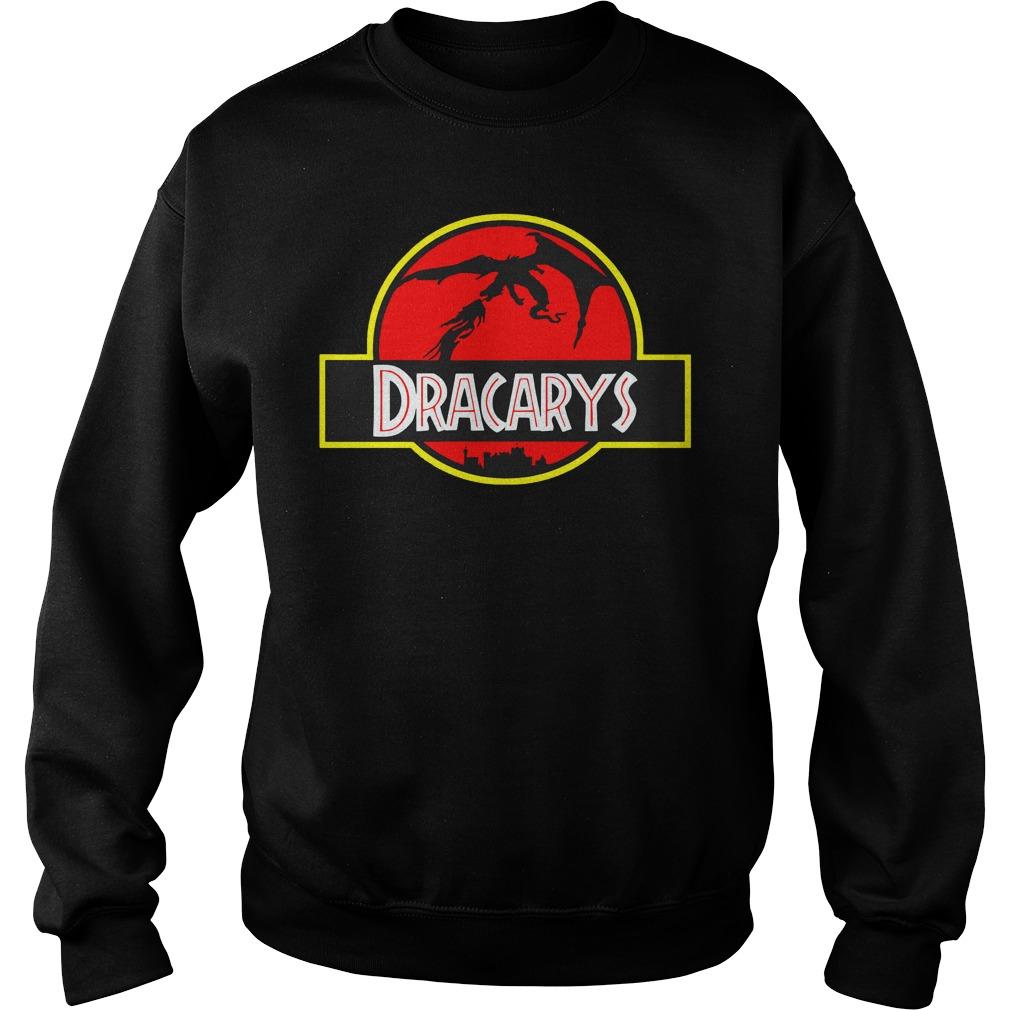 Game of Thrones Dracarys jurassic park mashup Sweater