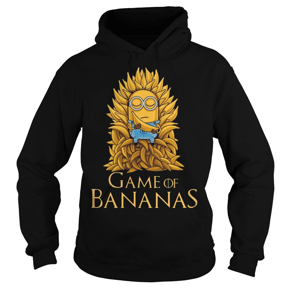 Game of Thrones: Minions Game of Bananas Hoodie