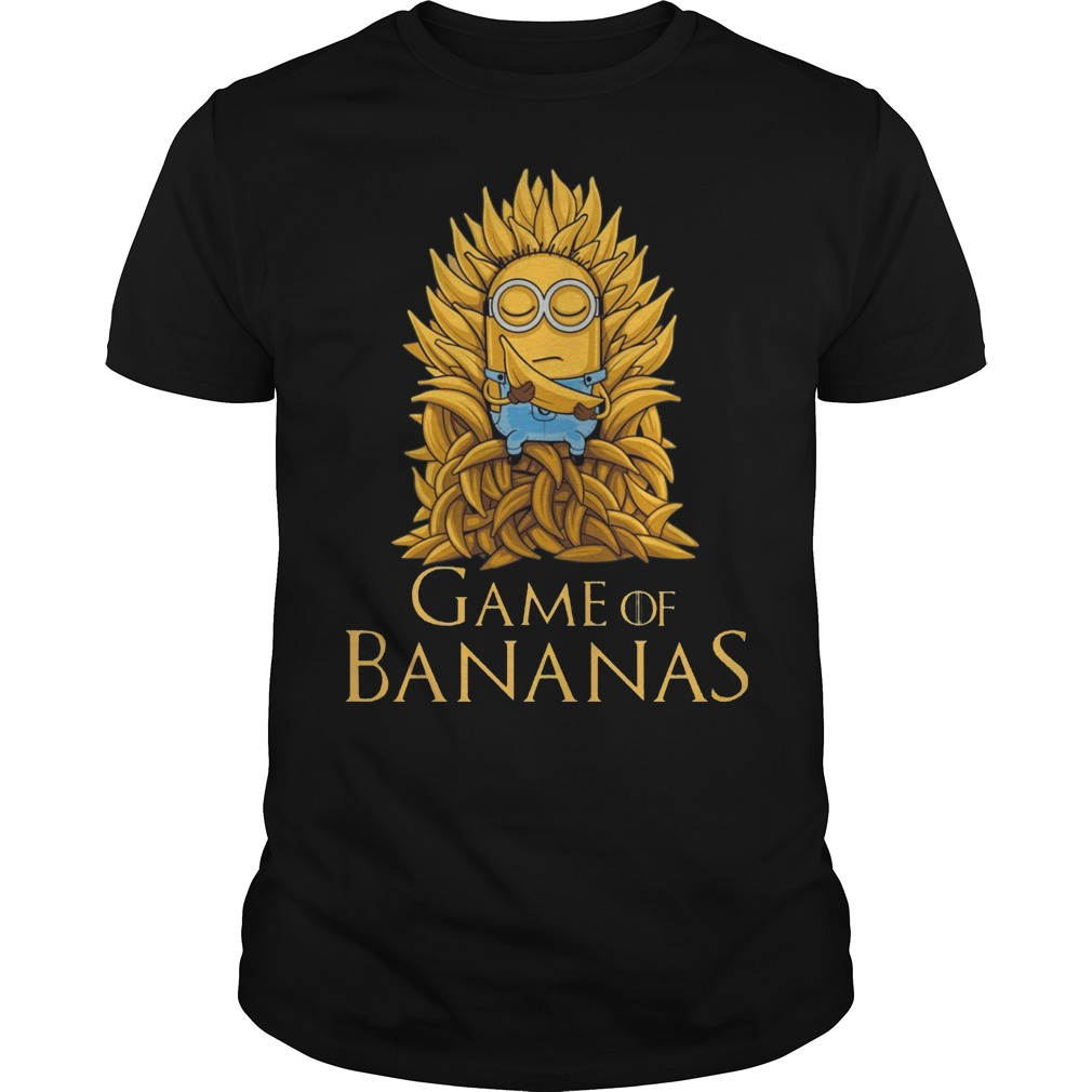 Game of Thrones: Minions Game of Bananas shirt