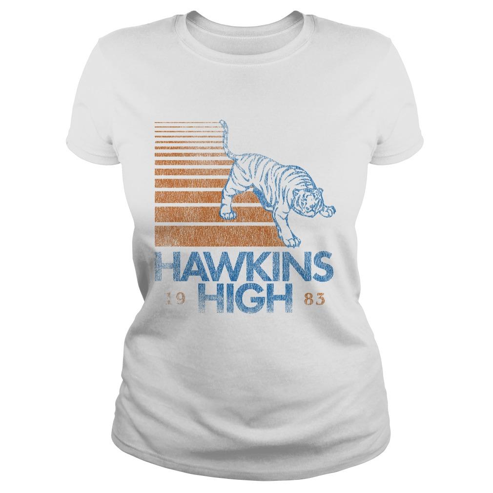 Hawkins High Stranger Things Ladies tee