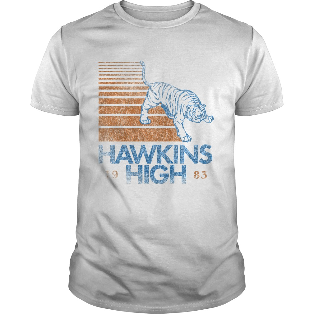 Hawkins High Stranger Things shirt