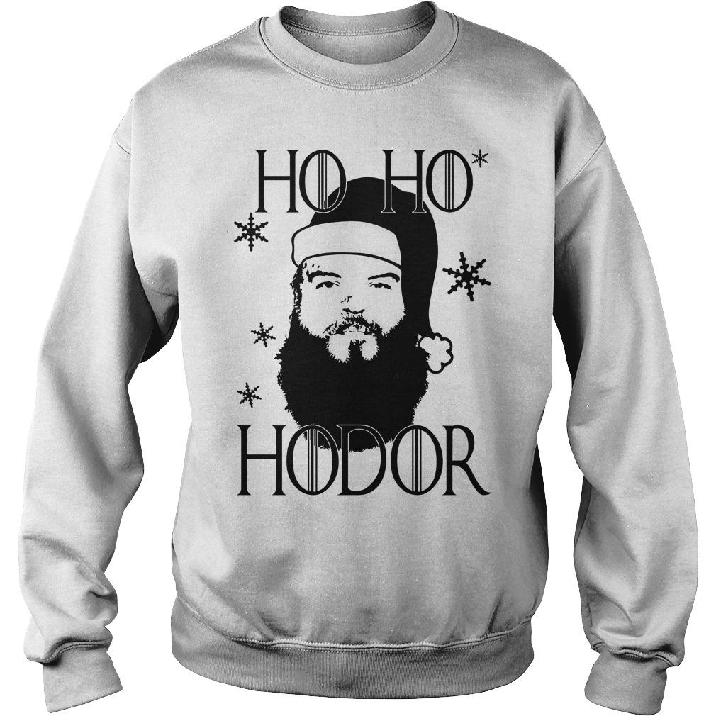 Ho Ho Hodor Christmas sweater
