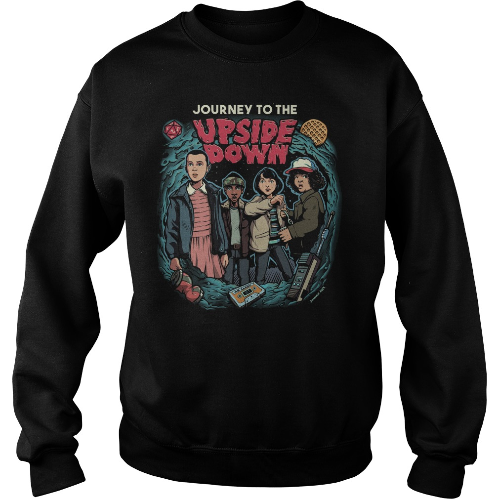 Journey to the upside down Stranger Thing Sweater
