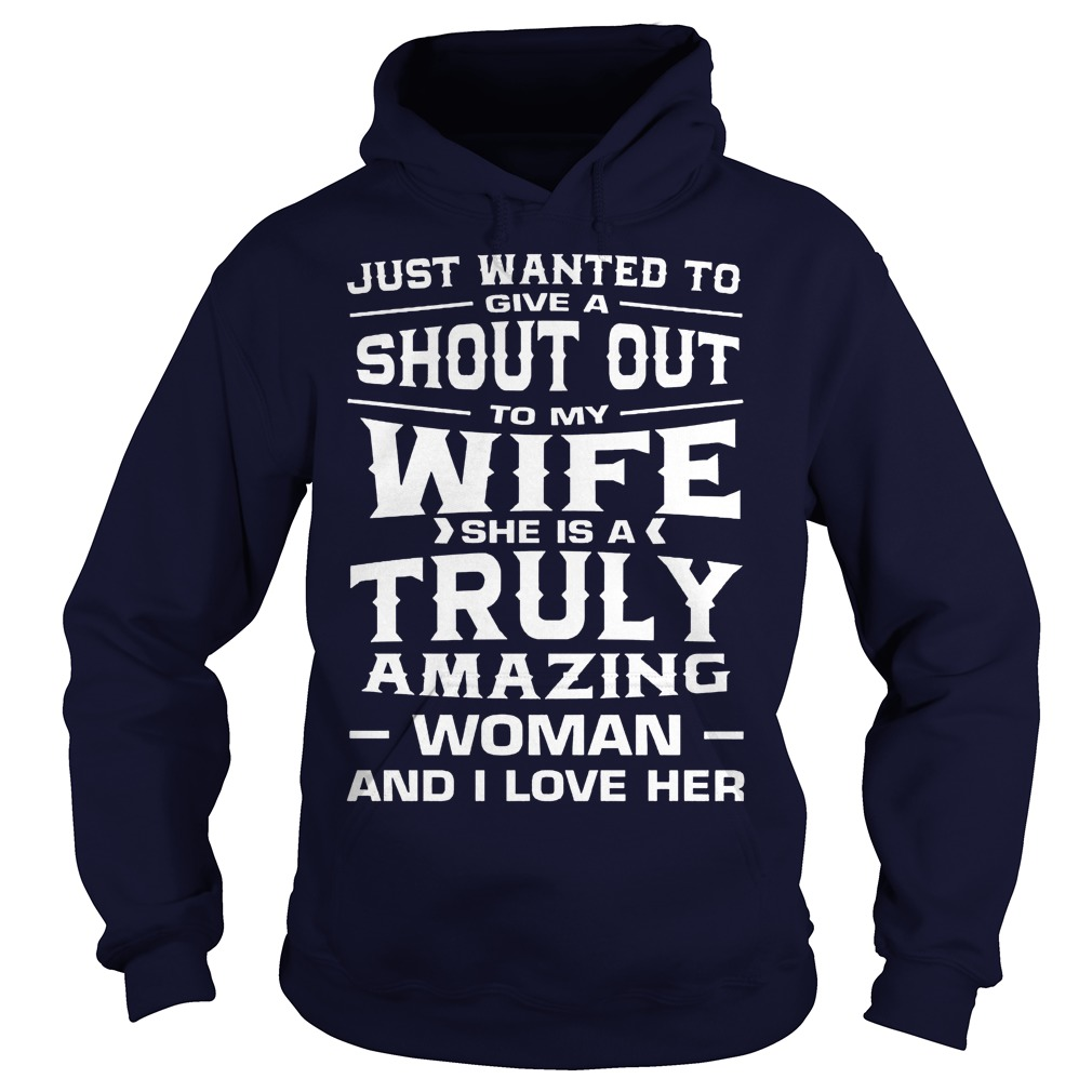 Just wanted to give a shout out to my wife she is a truly Hoodie