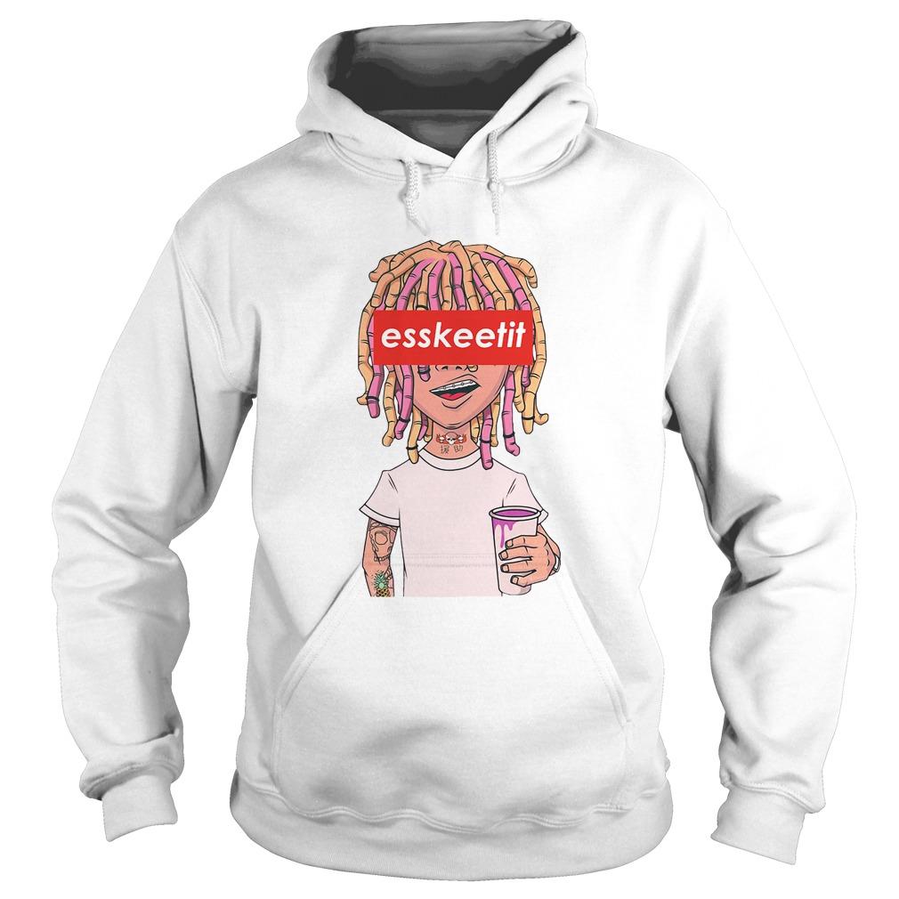 Lil Pump - Eskeetit box logo Hoodie
