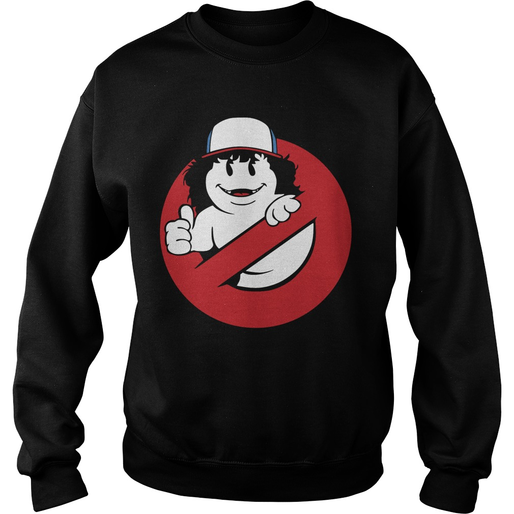 Official Gaten Matarazzo - ghostbuster tee Sweater