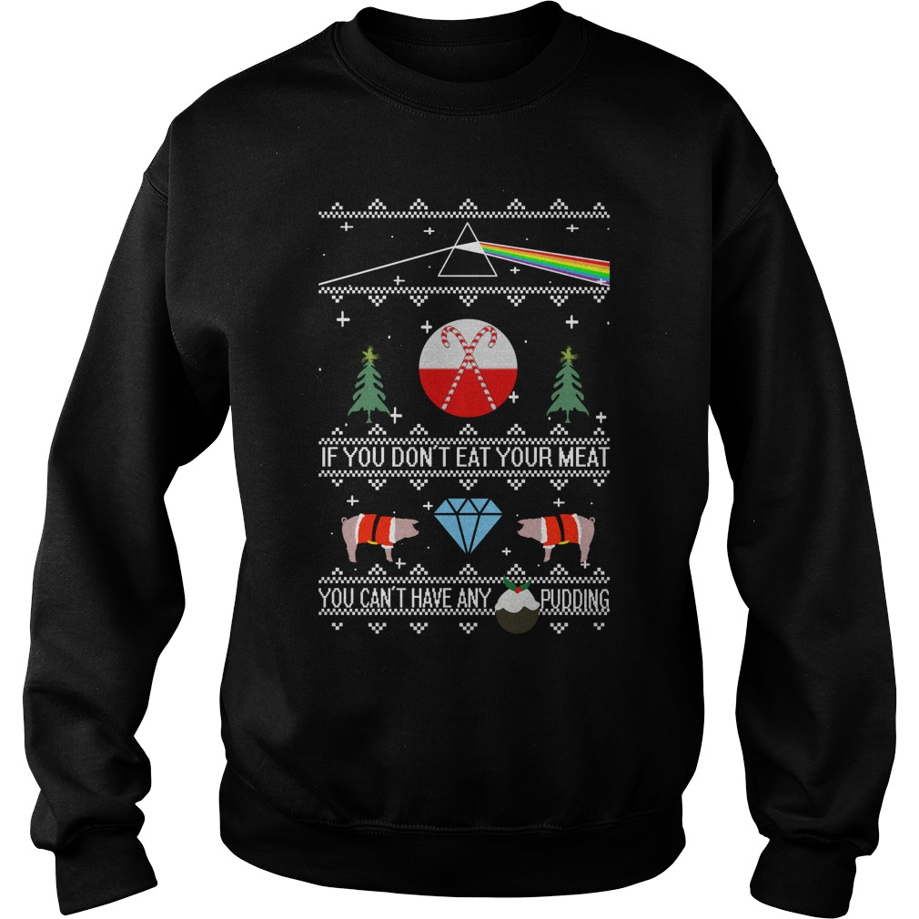 Pink floyd ugly christmas sweater