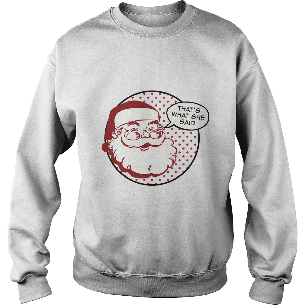Santa Claus is coming Christmas sweater