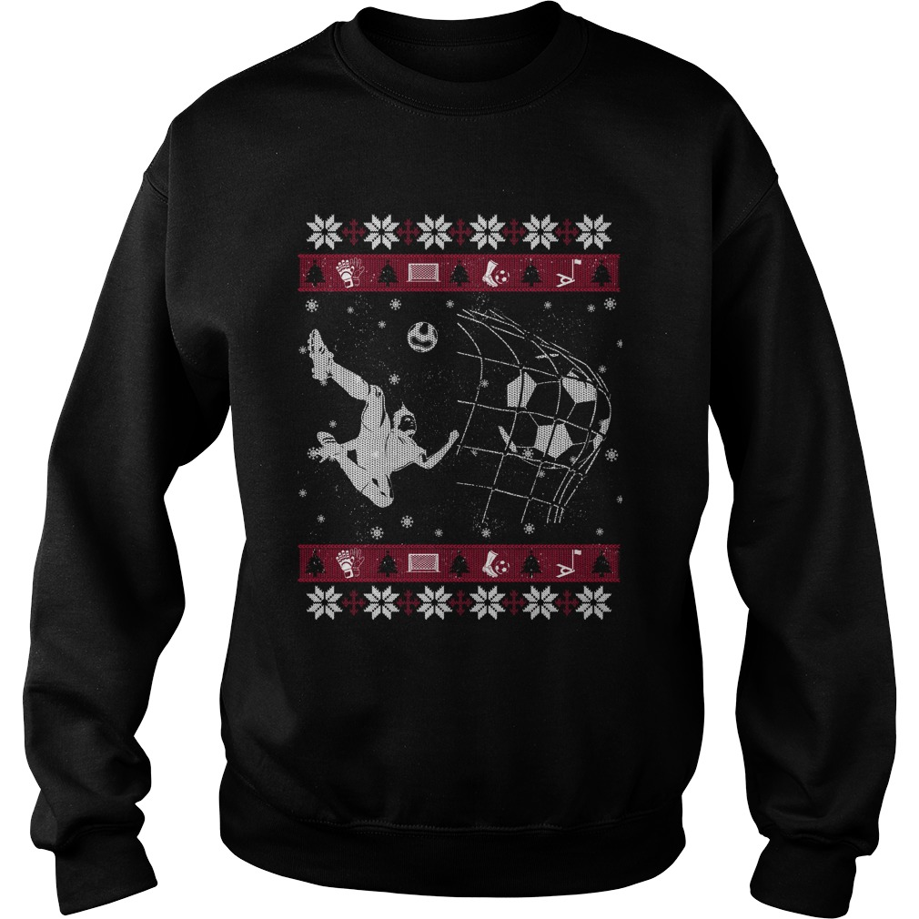 Soccer ugly Christmas sweater