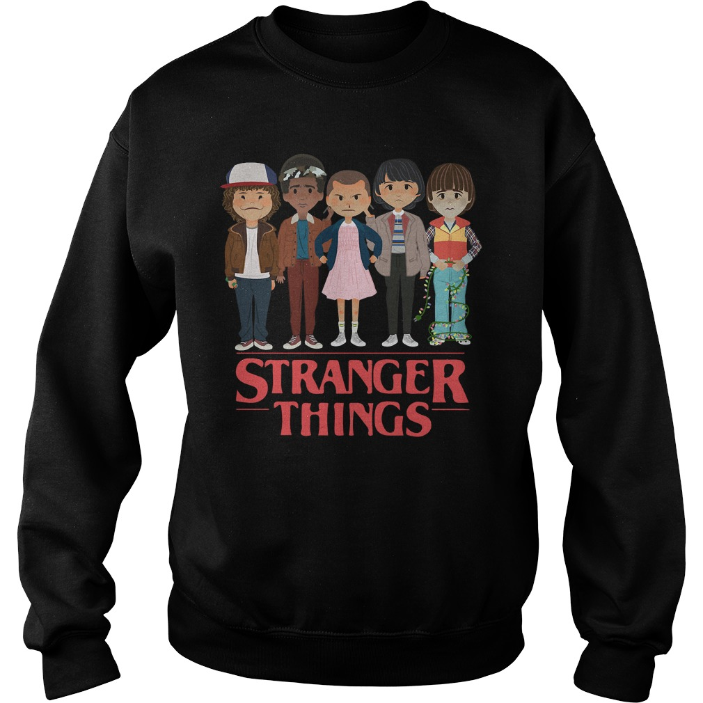 Stranger things Dustin Lucas Eleven Mike and Will Sweater