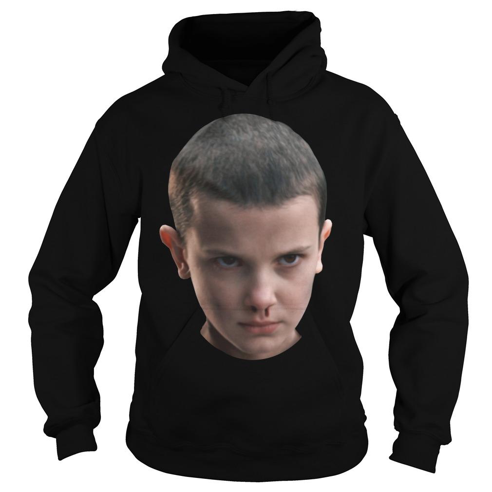 Stranger Things - Eleven's head hoodie