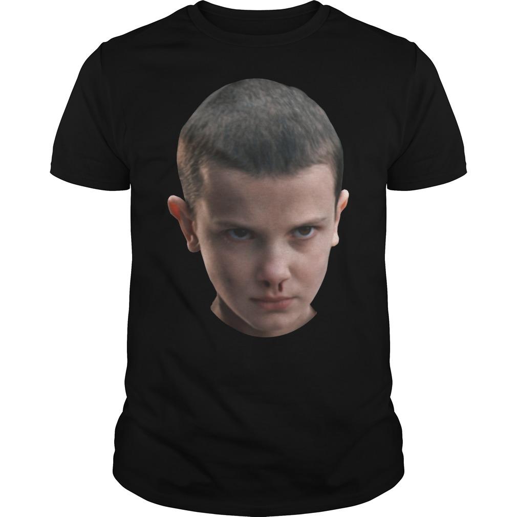 Stranger Things - Eleven's head shirt