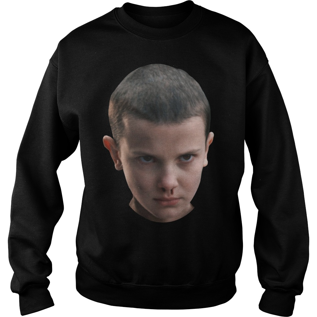 Stranger Things - Eleven's head Sweater