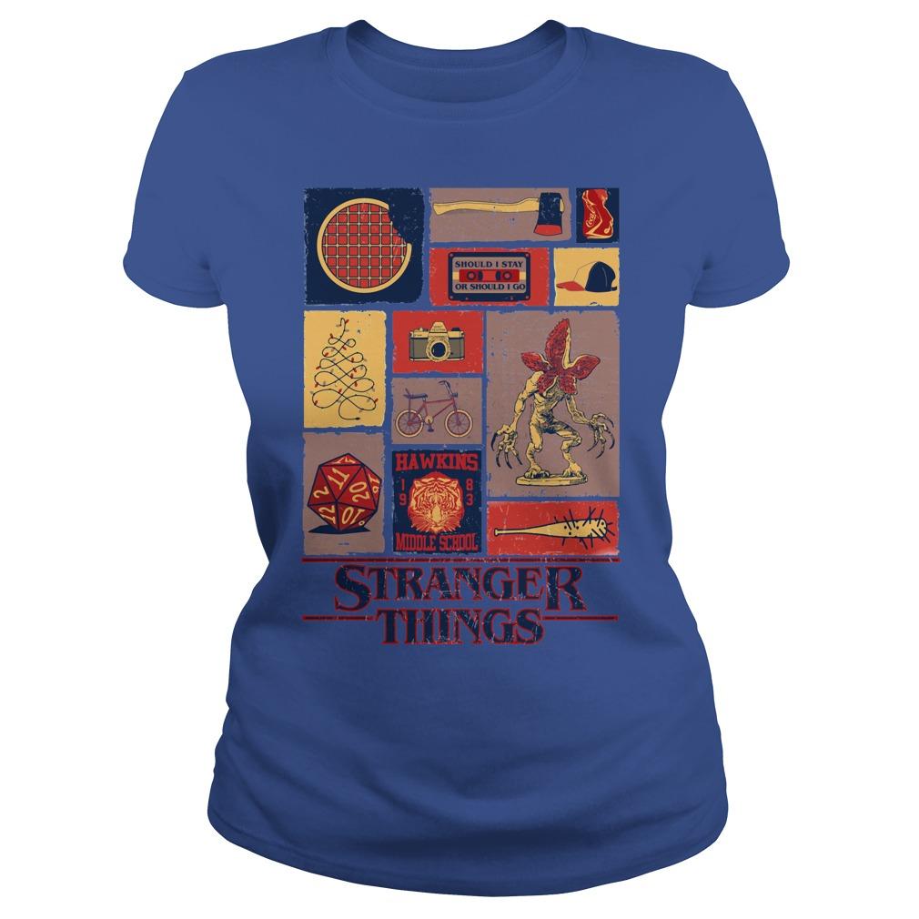 All Stranger Things season 1 Ladies tee