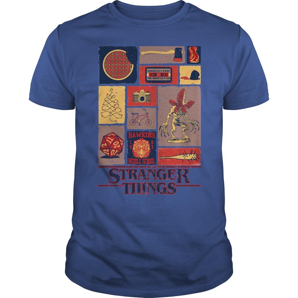 All Stranger Things season 1 shirt