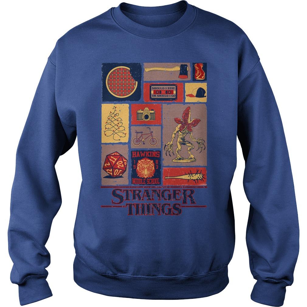 All Stranger Things season 1 Sweater