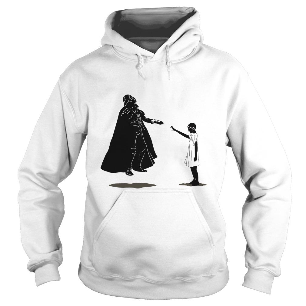 Stranger things vs Star wars: Eleven vs Darth Vader Hoodie