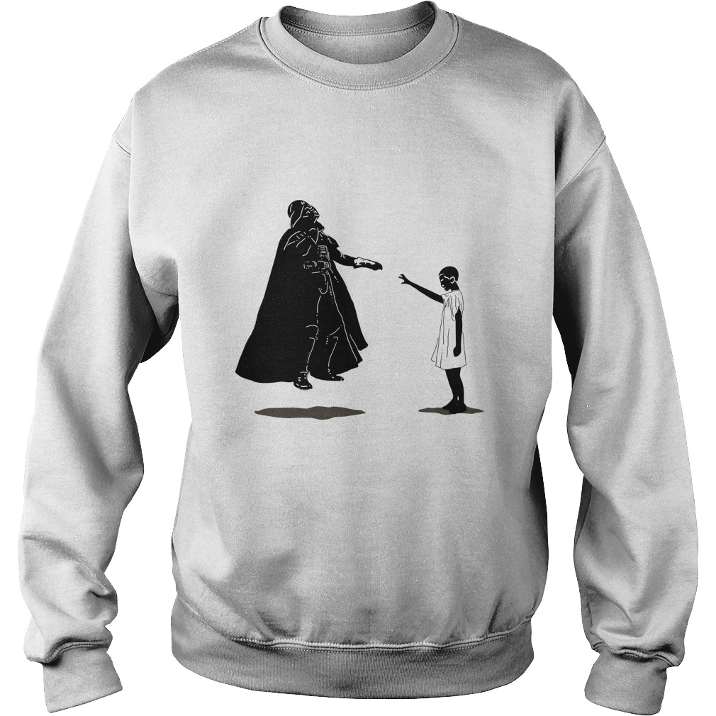 Stranger things vs Star wars: Eleven vs Darth Vader Sweater