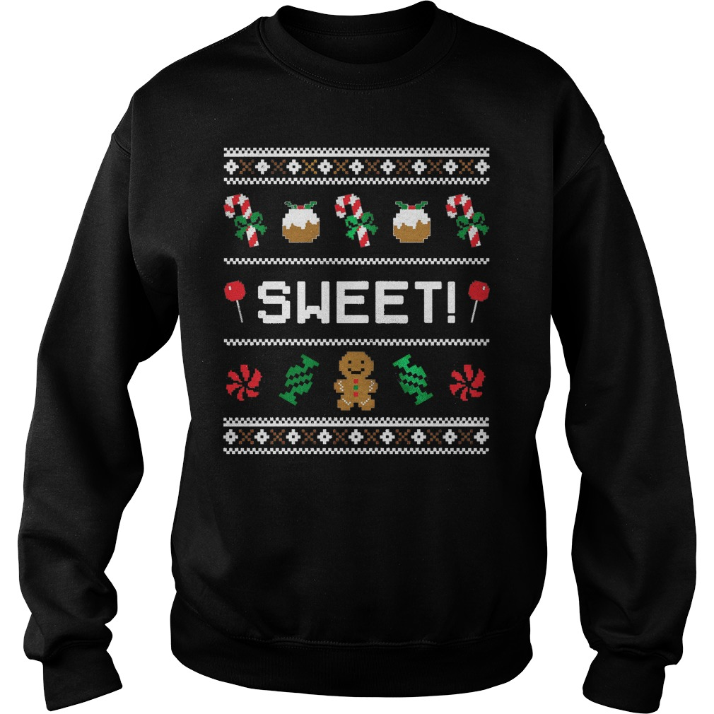 Sweet candy ugly Christmas sweater