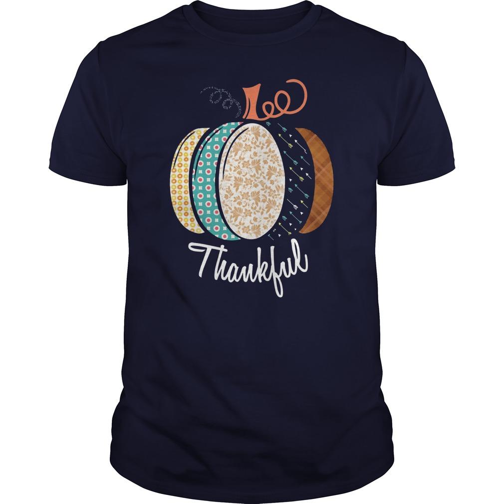Thankful Pumpkin Fall shirt