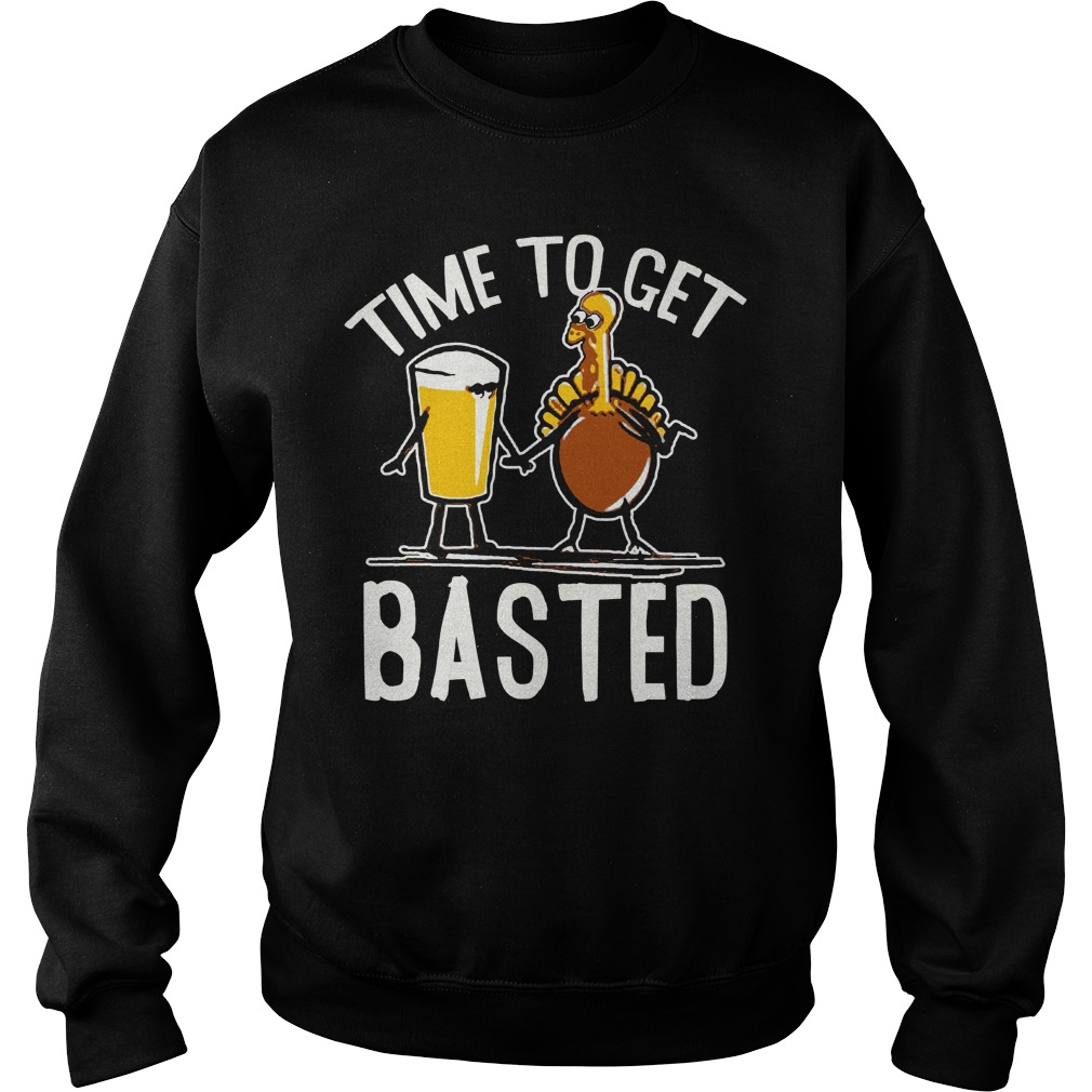 Time to get beer basted sweater
