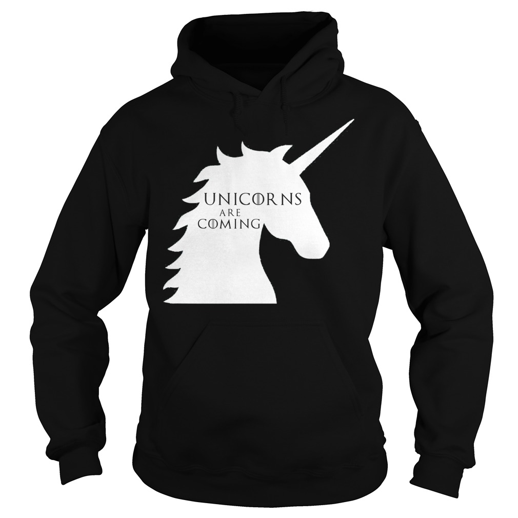 Unicorns are coming Game of Thrones Hoodie