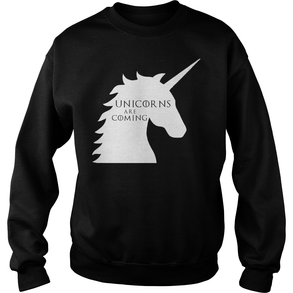 Unicorns are coming Game of Thrones Sweater