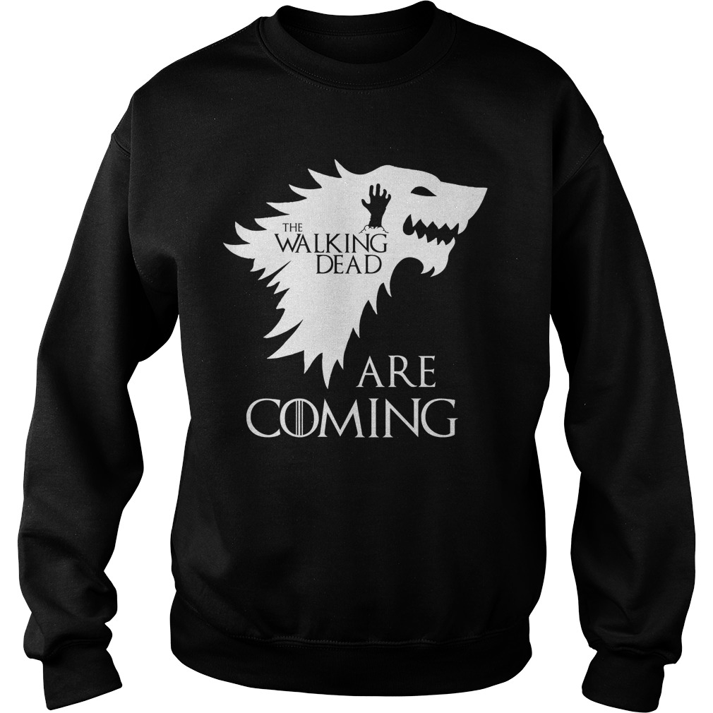 The walking dead are coming Game of Thrones Sweater